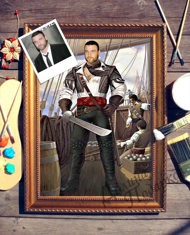 Портрет по фото *На палубе*