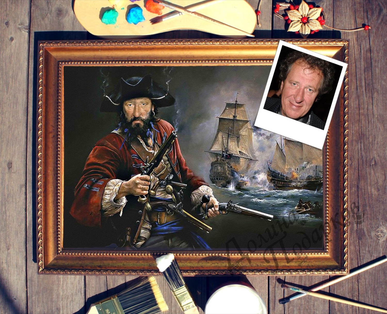 Портрет по фото *Морской пират*