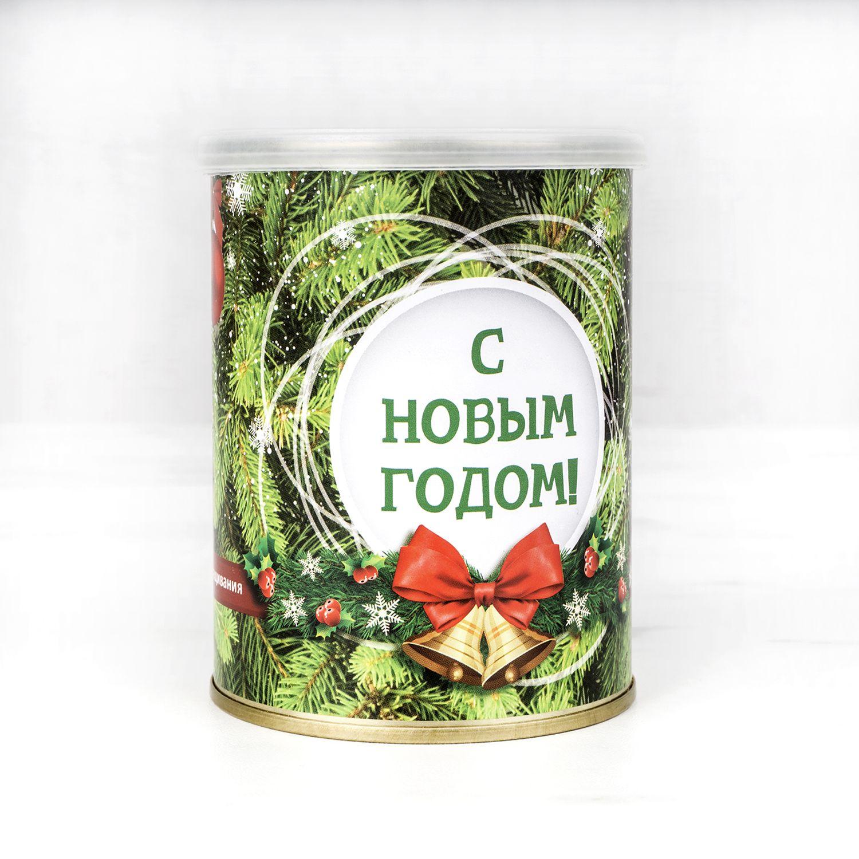 Растение в банке *Лиственница новогодняя*