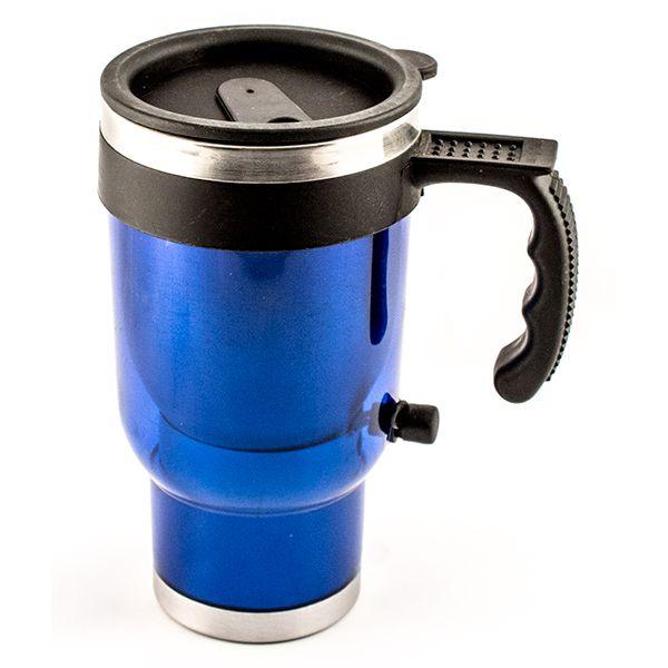 Автомобильная термокружка (синяя)