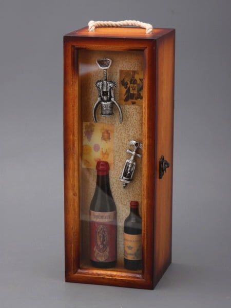 Кофр для бутылки вертикальный