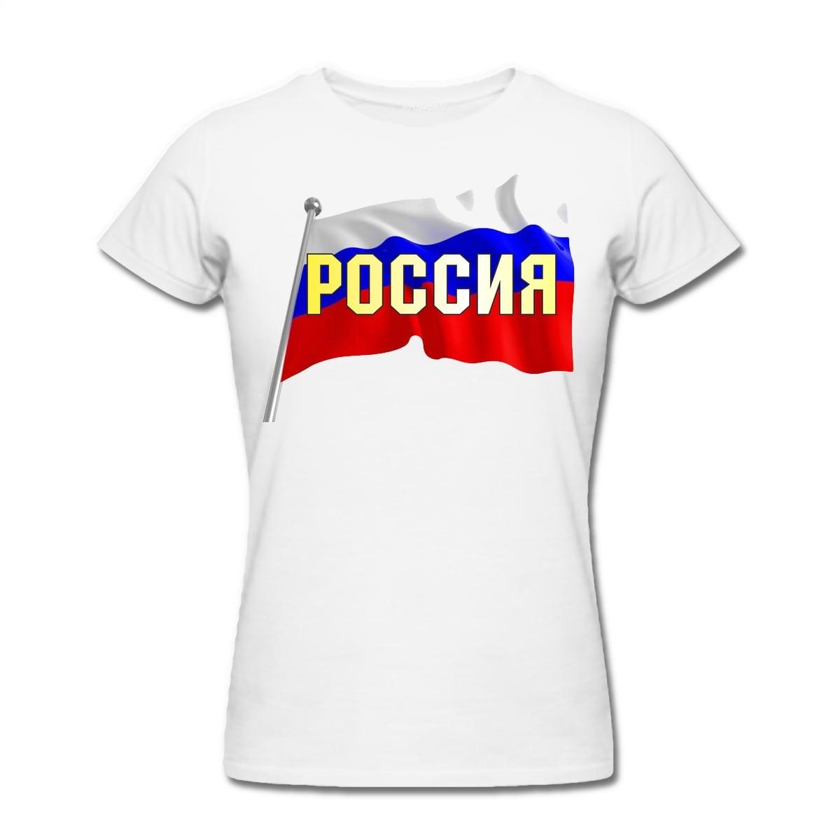 Футболка *Россия* женская