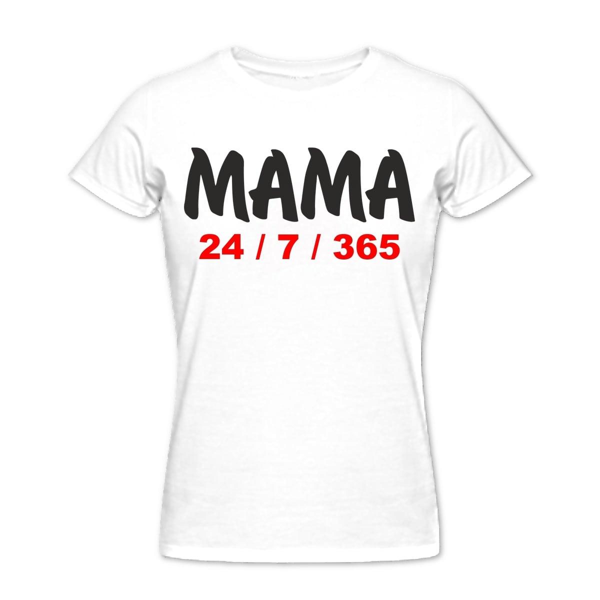Футболка *Мама 24 | 7 | 365*