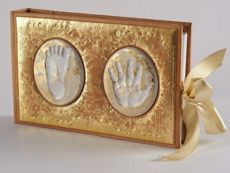 Детский подарочный фотоальбом (натуральная кожа)