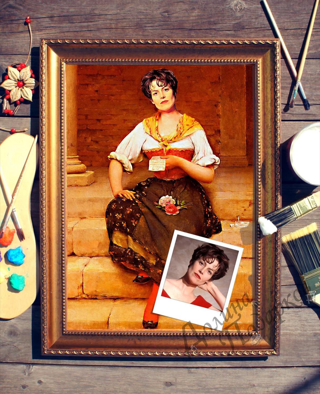 Портрет по фото *Письмо*