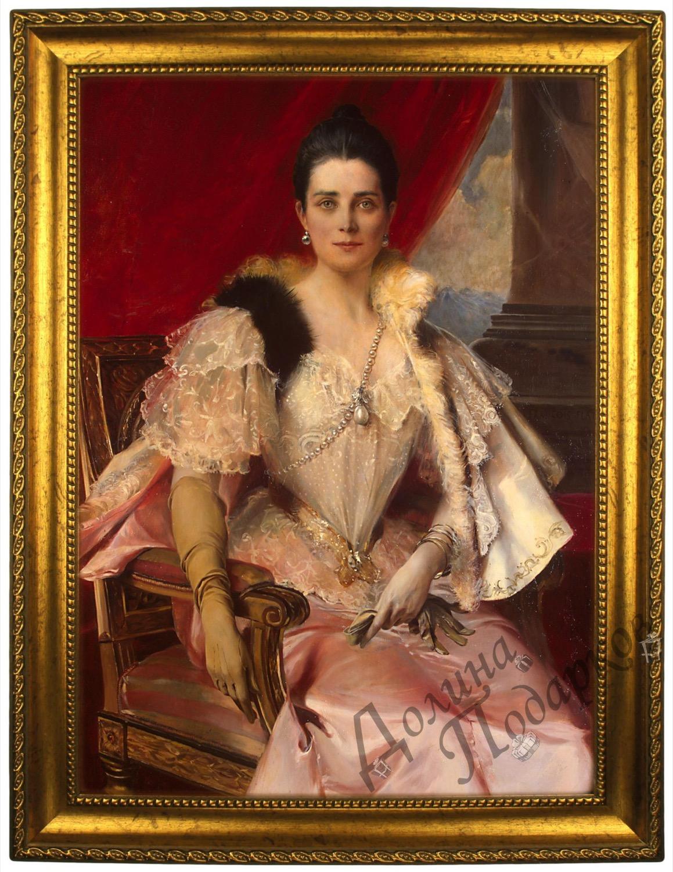 Портрет по фото *Княгиня Юсупова*