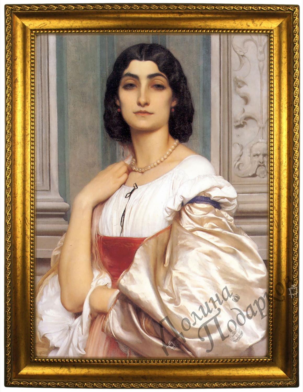 Портрет по фото *Римская леди*