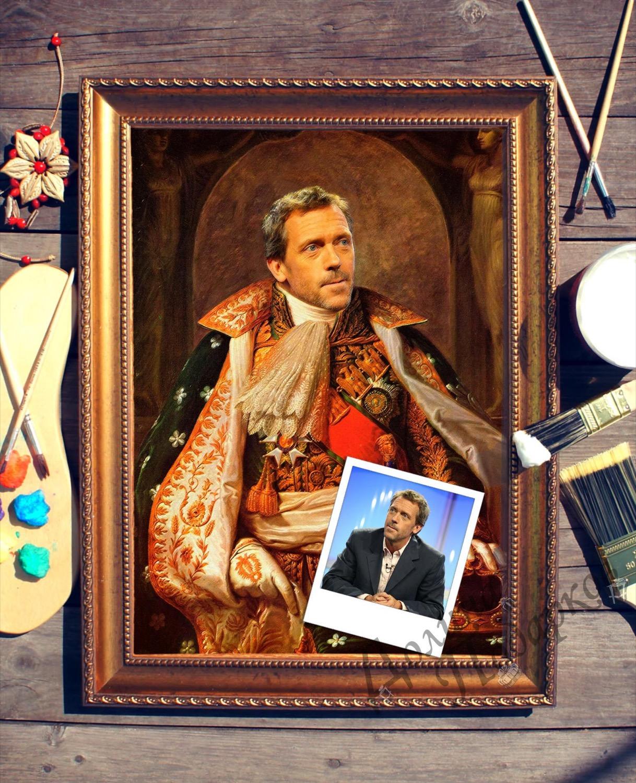 Портрет по фото *Наполеон*