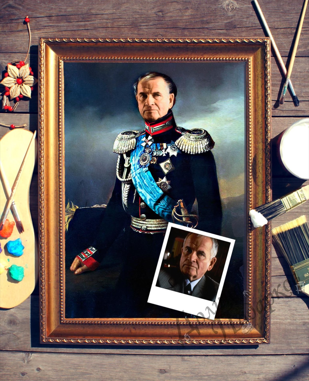 Портрет по фото *Князь Васильчиков*