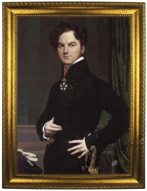 Портрет по фото *Мужчина с шпагой*