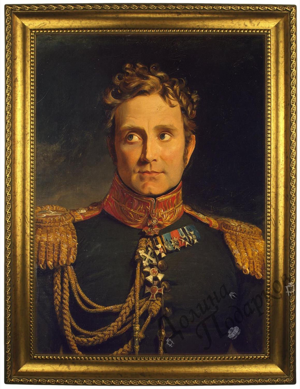 Портрет по фото *Генерал-адъютант*