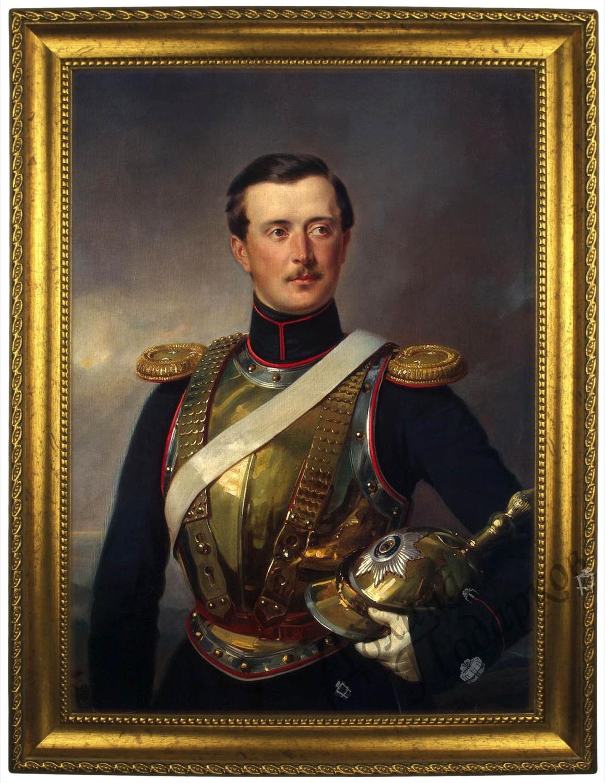 Портрет по фото *Генерал Шувалов*