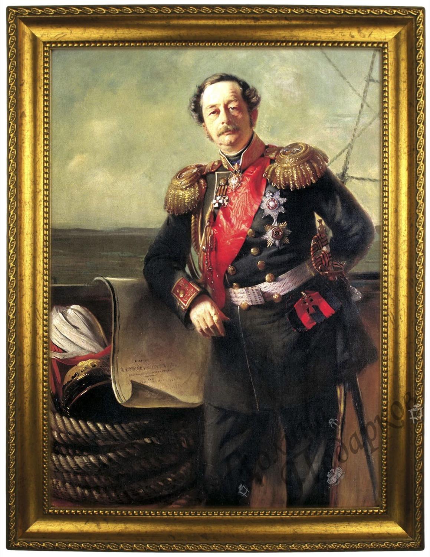 Портрет по фото *Граф на корабле*
