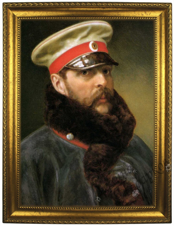 Портрет по фото *Император Александр II*