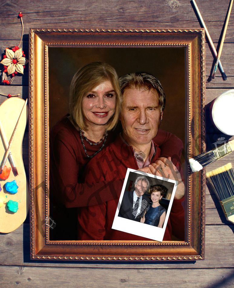 Парный портрет по фото *Счастливые супруги*