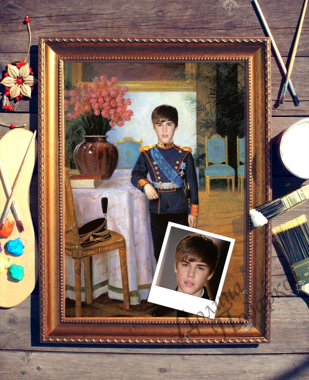 Портрет по фото *Маленький принц*