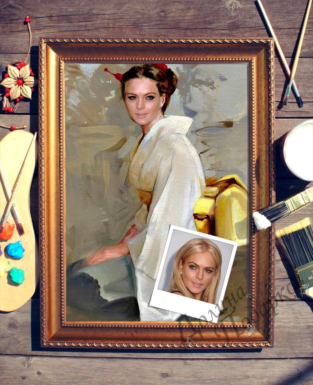 Портрет по фото *В кимоно*