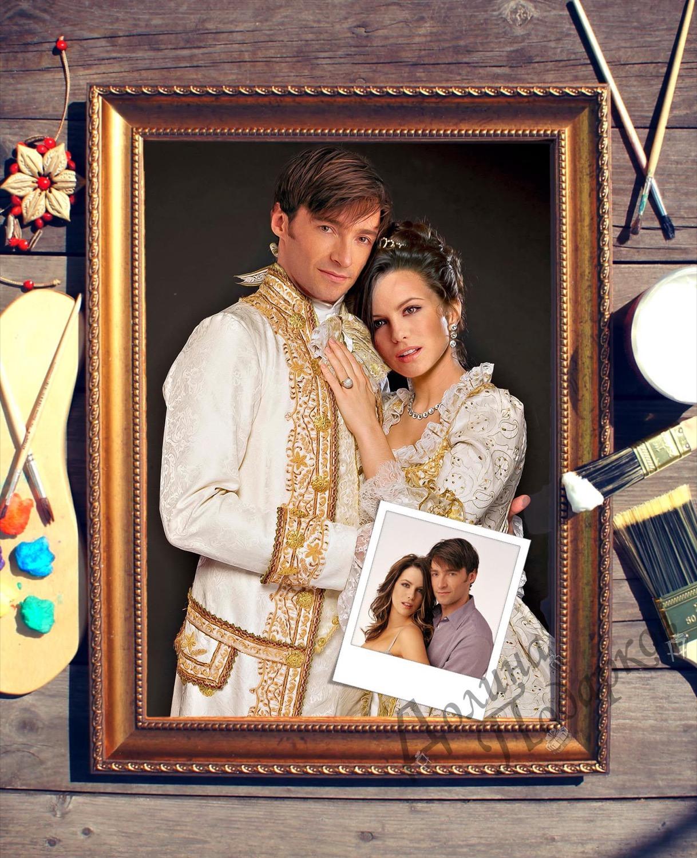 Парный портрет по фото *Роскошная пара*