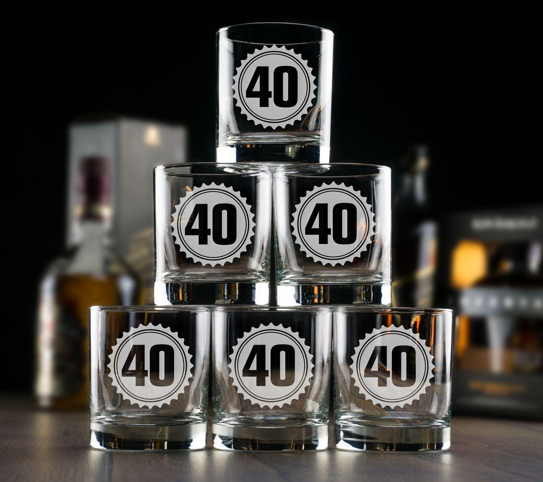 Большой набор бокалов для виски