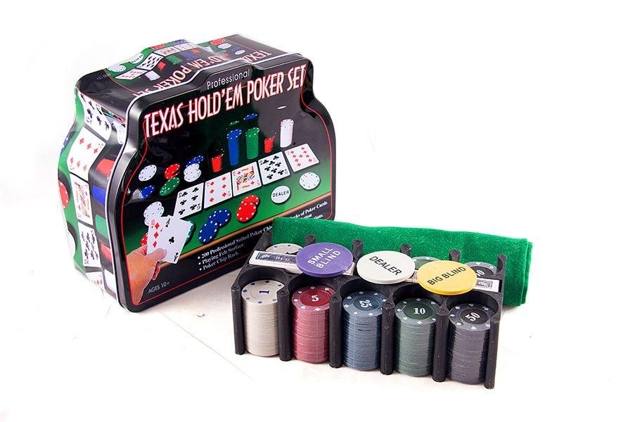 Большой покерный набор