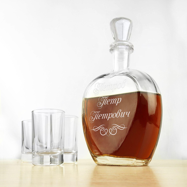 Штоф для напитков Персональный