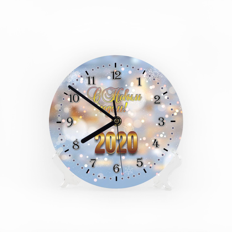 Часы «Снежная сказка 2020»