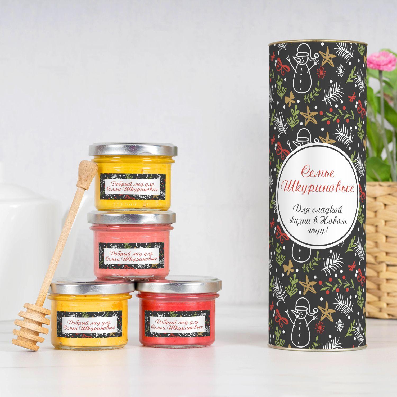 Подарочный набор меда «Для всей семьи»