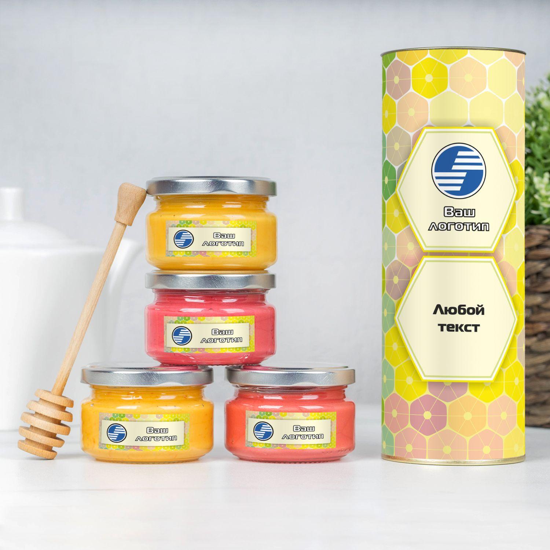 Подарочный набор меда с Вашим логотипом
