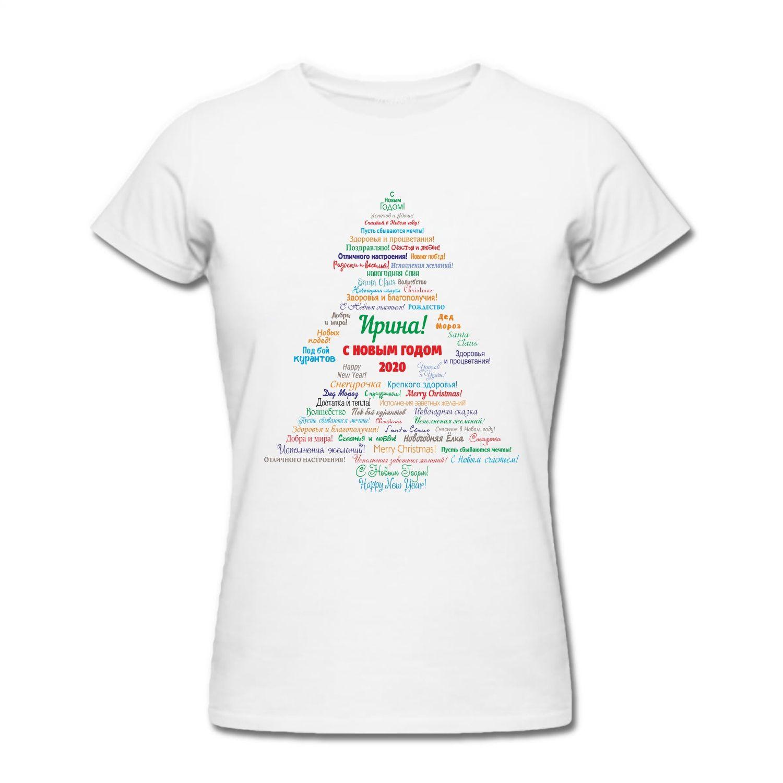 Именная футболка