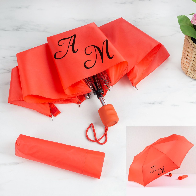 Зонт Red с инициалами