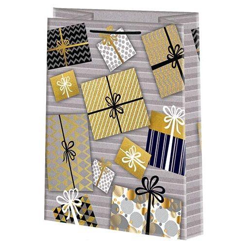 Подарочный пакет Презент 26х33 см.