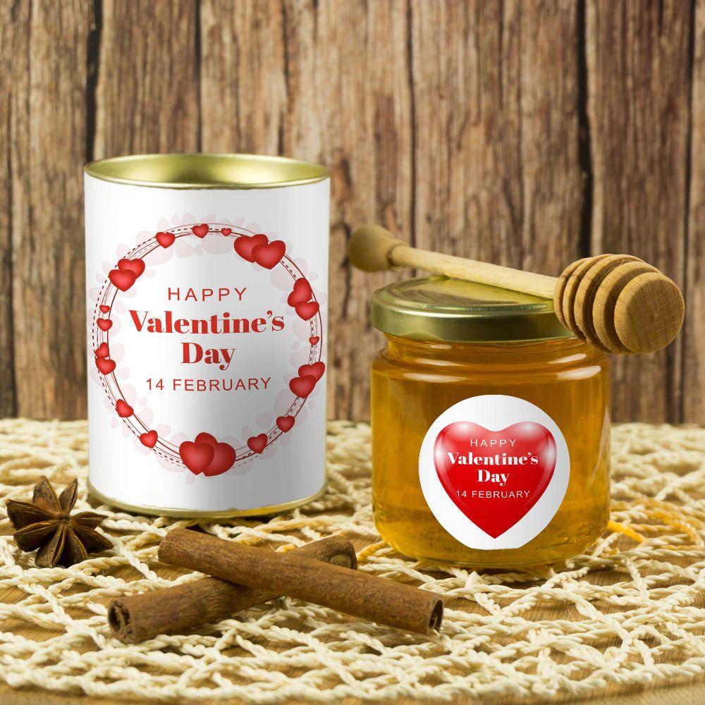 Подарочный мед  Happy Valentines Day